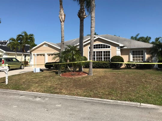One of three bodies found in Port St. Lucie Feb. 28, 2018, was in this Shelley Terrace home.