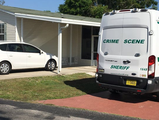 Indian River County deputies at scene of possible murder