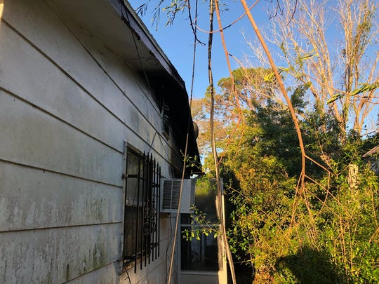 Firefighters responded to a structure fire in Cocoa