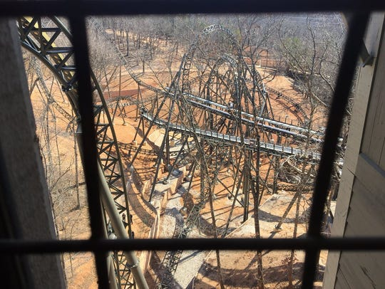 A look at Silver Dollar City's Time Traveler roller