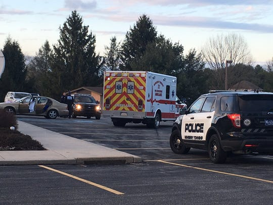 A shooting was reported at the Church of Jesus Christ