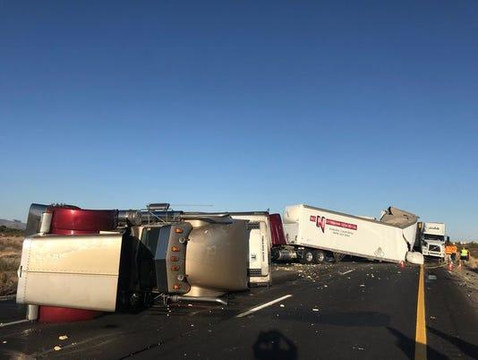 I-10 East crash