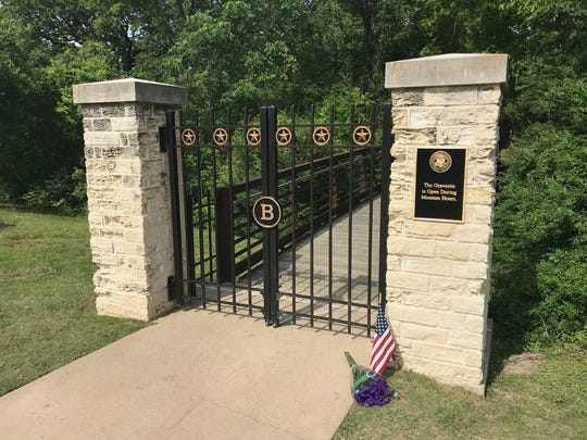 Barbara Bush will be buried near the museum near a pond on a grave site that has long been reserved for her and her husband. Robin Bush, their daughter who died of leukemia at age 3, is buried there as well.