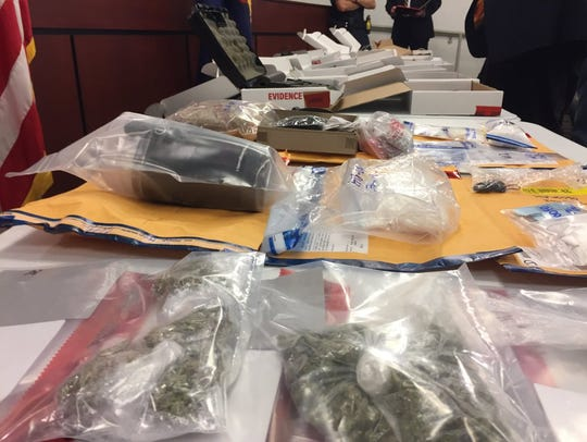 Marijuana was just one of several drugs seized by law