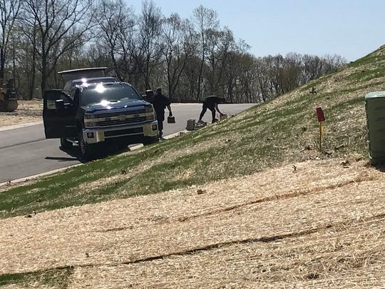 Michigan State Police Bomb Squad respond to a call