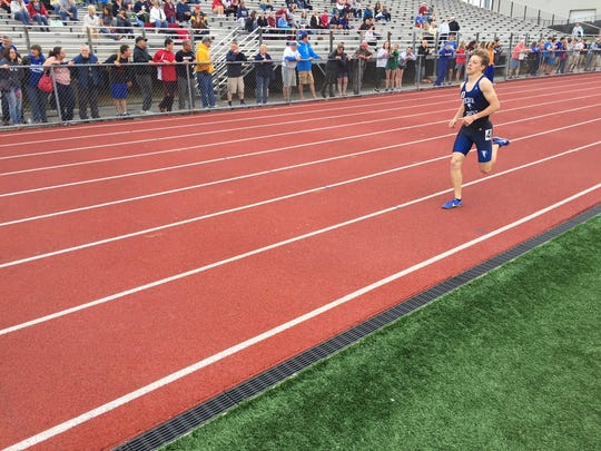 Adam Wolfe helped Cedar Crest to a runner-up finish