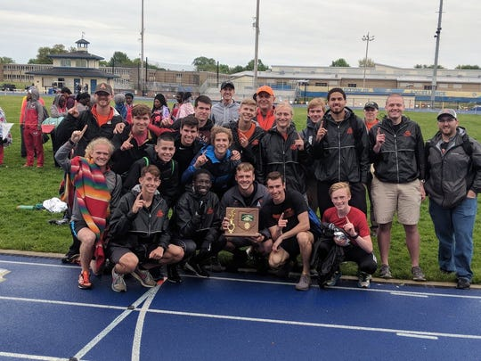 The Ashland boys successfully defended their Division I district title.