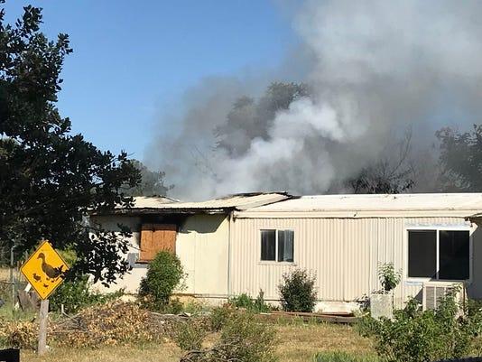 Bella Vista mobile home fire