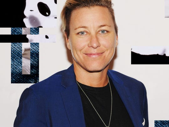 Retired soccer star Abby Wambach shared her journey
