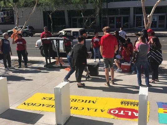 Phoenix immigration protest