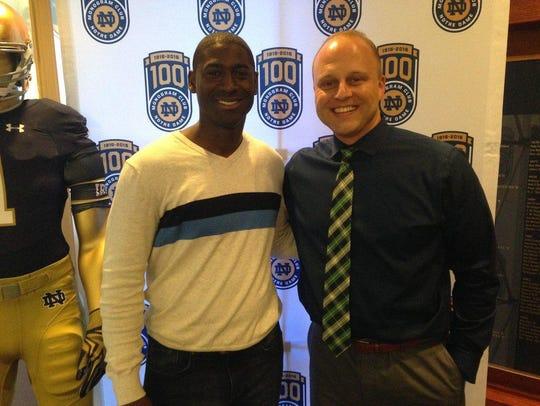 New Auburn AD Allen Greene (left) has hired former