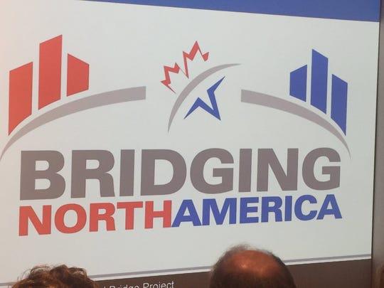 The logo for the team chosen to build the Gordie Howe International Bridge.