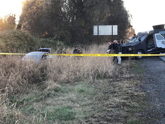 Stolen car suspect dead
