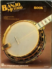 Will Schmid was the co-author of this banjo instruction book used by beginner Jim Stingl at a class taught by Schmid in the summer of 1979 at UWM.