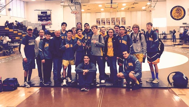 The Windsor wrestling team finished first out of 21 teams competing at the Mile High Classic at Thomas Jefferson High School on Saturday.