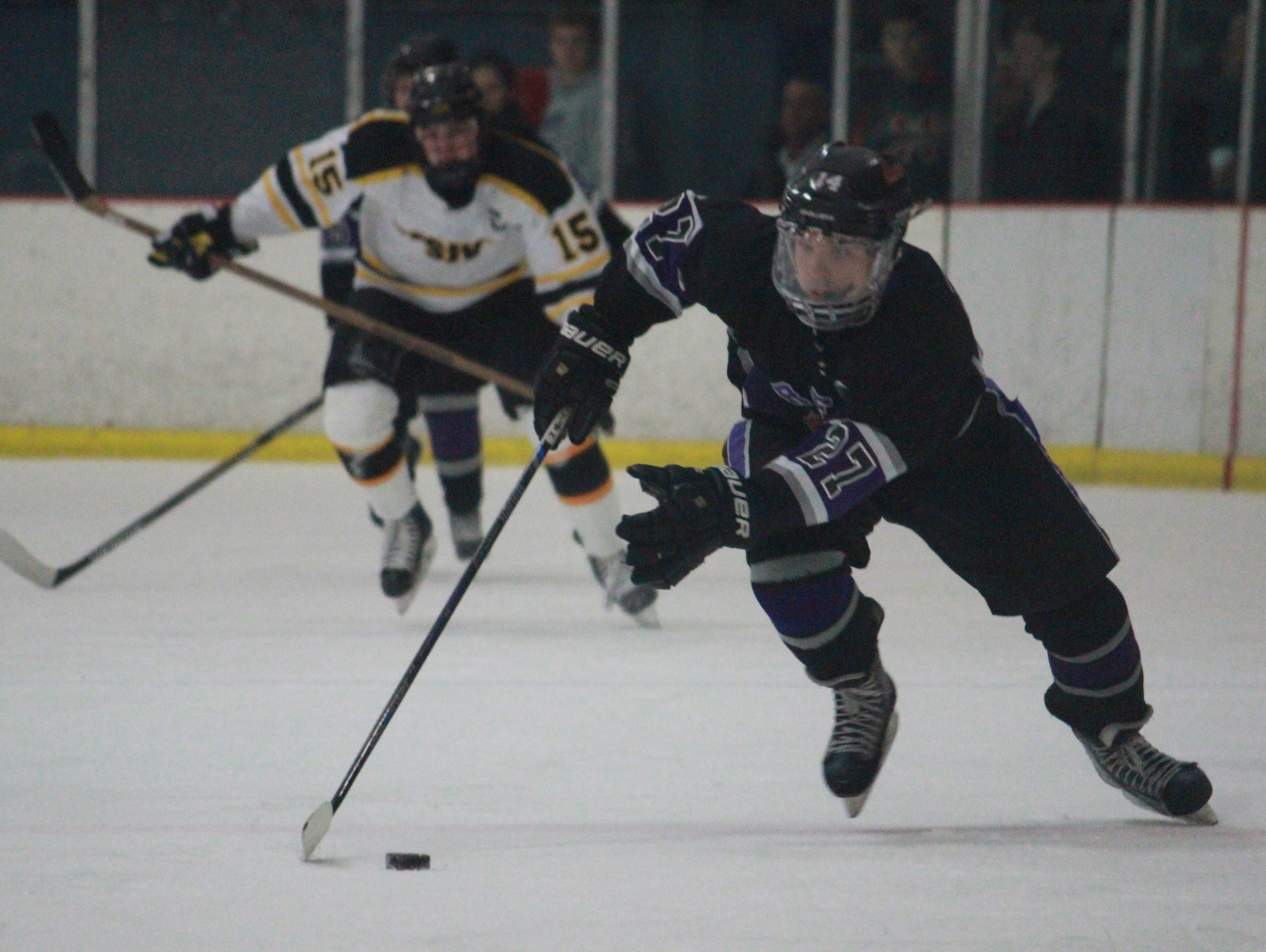 Brendan Ban (27) helped lead Rumson past Vianney on Tuesday in Wall.