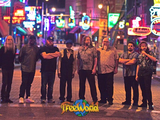 Memphis jam band FreeWorld celebrate their 30th anniversary