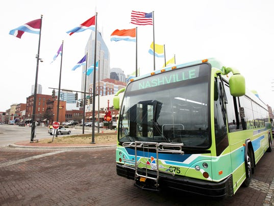 Downtown buses hit road, but for how long?