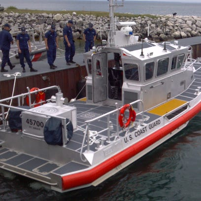 45-foot response boat.