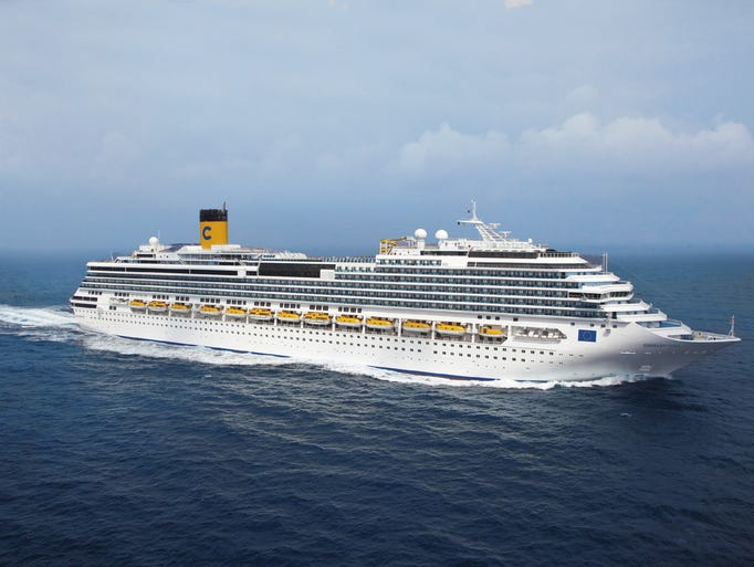 Christened in Trieste, Italy on July 2, 2011, the 3,000-passenger Costa Favolosa is the 15th ship in the Costa Cruises fleet.