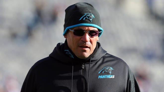 Carolina Panthers head coach Ron Rivera has given pep talks to Chip Ganassi Racing's Sprint Cup team.