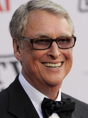 Director Mike Nichols arrives at the AFI Lifetime Achievement Awards honoring Mike Nichols, presented at Sony Pictures Studios on in this June 10, 2010 file photo taken in Culver City, Calif. ABC News confirms director Mike Nichols and husband of Diane Sawyer died Wednesday evening Nov. 19, 2014. He was 83. (AP Photo/Chris Pizzello, FILE)