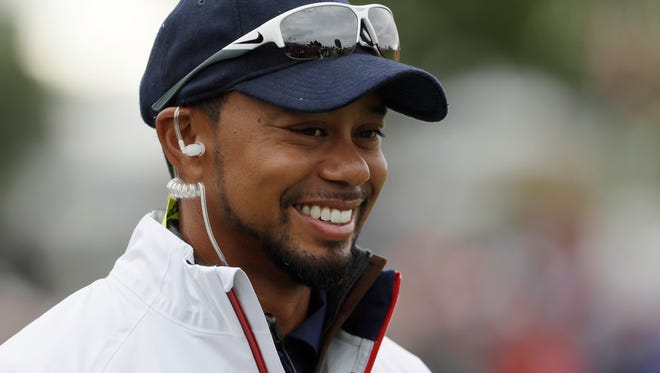 Martin County resident Tiger Woods, shown in this file photo from the Ryder Cup, has decided not to return to the PGA Tour this week at the Safeway Open in California.