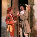 Shakespeare Theatre features commedia dell'arte on Outdoor Stage