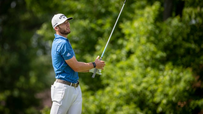 Sam Burns took the lead at the Safeway Open, the first stop on the PGA Tour's 2020-21 season, on Friday morning.