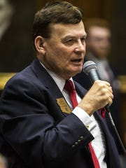 State Rep. David Stringer resigned from the Legislature.