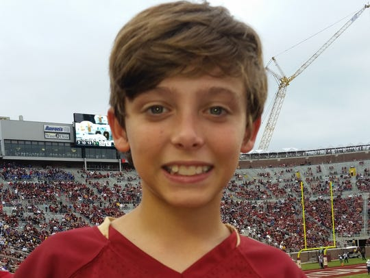 Grant Hofberger, 13, has been missing since July 18.