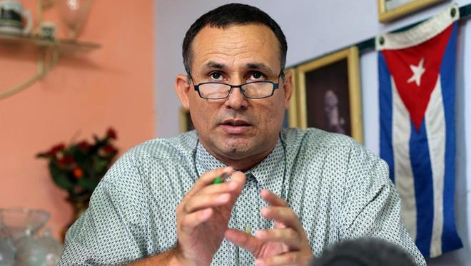 El opositor cubano José Daniel Ferrer, líder de la Unión Patriótica de Cuba (UNPACU) y miembro de la Mesa de Unidad de Acción Democrática (MUAD).