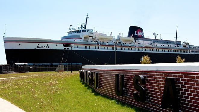 The S.S. Badger is the last coal-fired passenger steamship in operation in the United States.