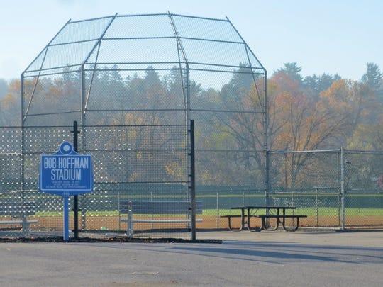 Now named Bob Hoffman Stadium and used for softball,