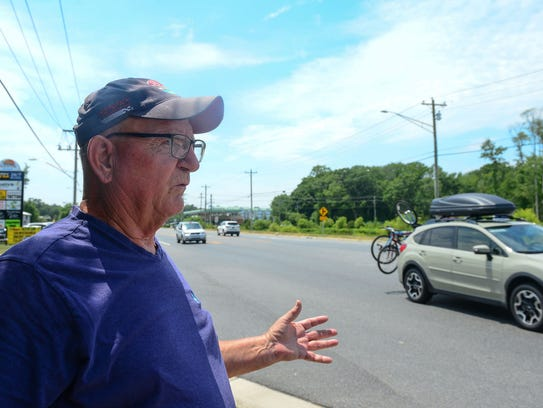 Bob Lowe, Selbyville Resident, talks about how  the