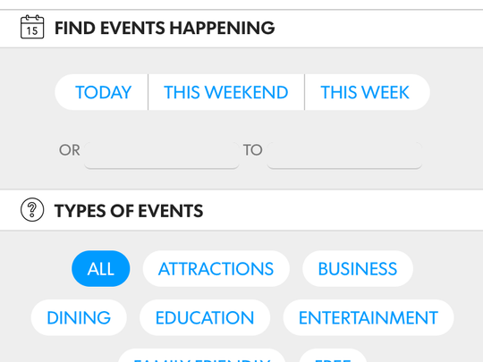 Use our new calendar to find something to do tonight.