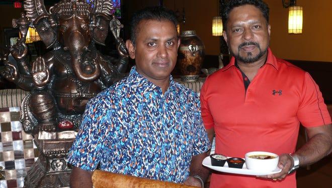 Anil Vadaparambie, left, and Jomon Leukose opened Taste of India in Melbourne in 2002.