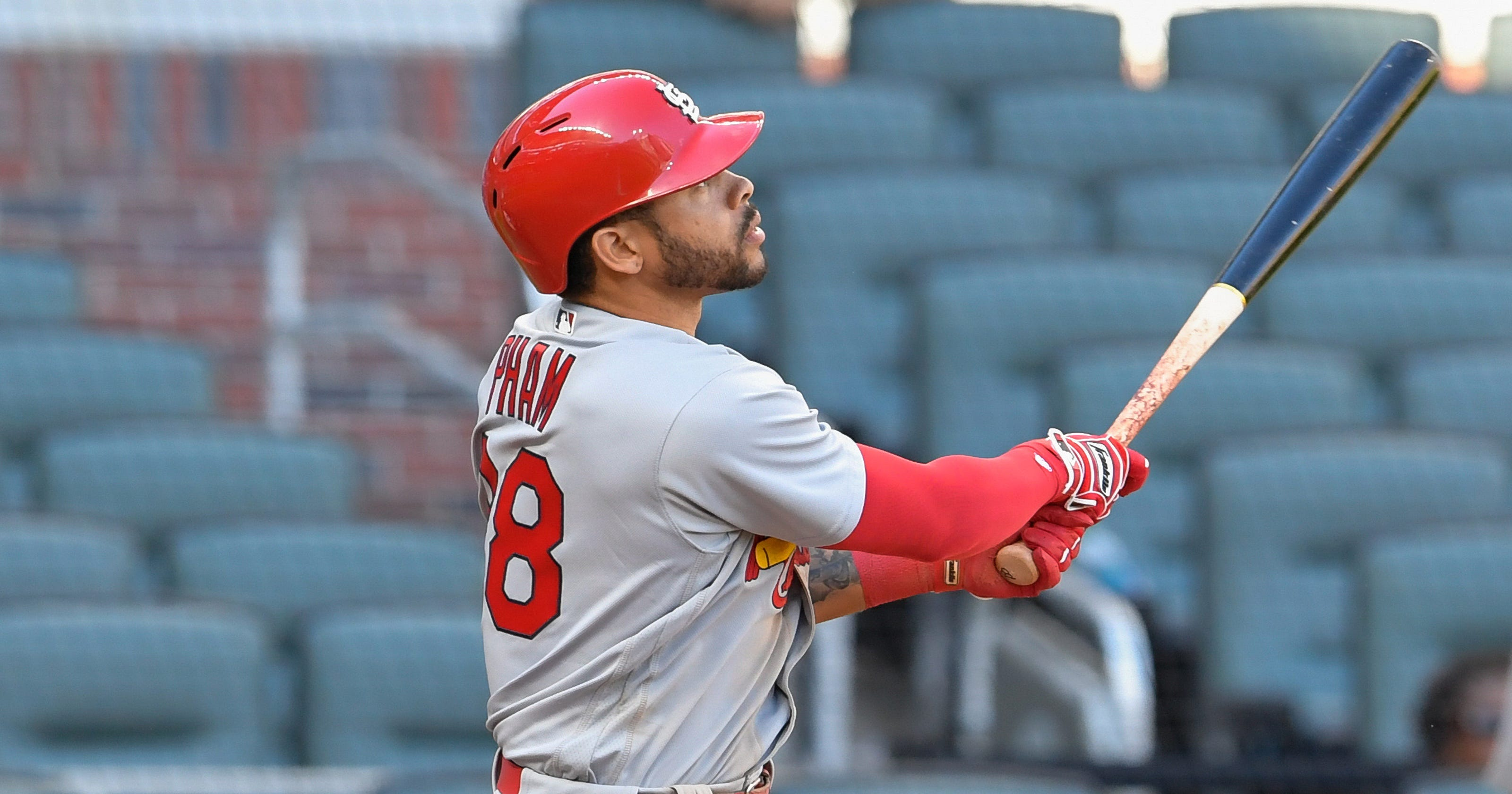 0c790d34e Tommy Pham s HR lifts St. Louis Cardinals over Atlanta Braves in 14 innings