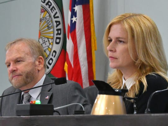 """County Commissioner Curt Smith and County Commission Vice Chair Kristine Isnardi were on opposite sides of two votes on Tuesday on issues some commissioners classified as dealing with """"home rule."""""""