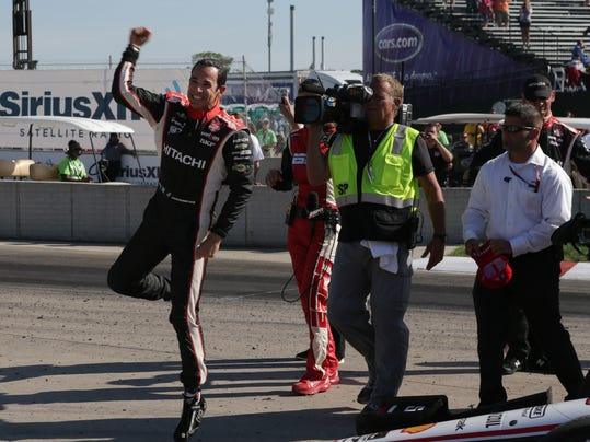 MNCO INdyCar Helio Castroneves feature