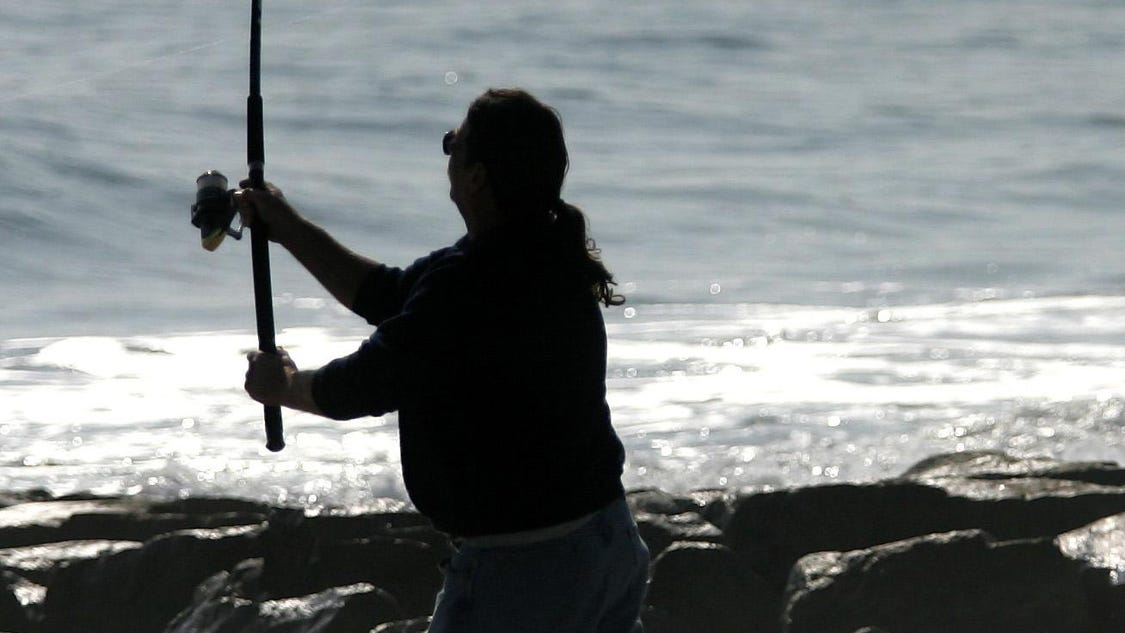 Long beach island surf fishing classic coming up for Surf city fishing report