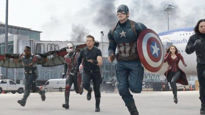 Avengers (and ringers) Assemble!