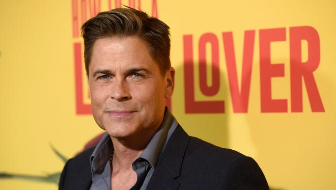 """In this April 26, 2017, file photo, Rob Lowe arrives at the Los Angeles premiere of """"How to Be a Latin Lover"""" at the ArcLight Hollywood. Lowe told Entertainment Weekly in an interview published online June 27, 2017, that he feared death during an encounter with a bigfoot-like creature in the Ozark Mountains while shooting his upcoming A&E docu-series """"The Lowe Files."""""""