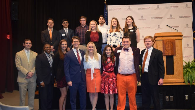 Students from both Clemson University and the University of South Carolina presented the Student Higher Education Report and Honor Roll on  Jan. 18 in Columbia.
