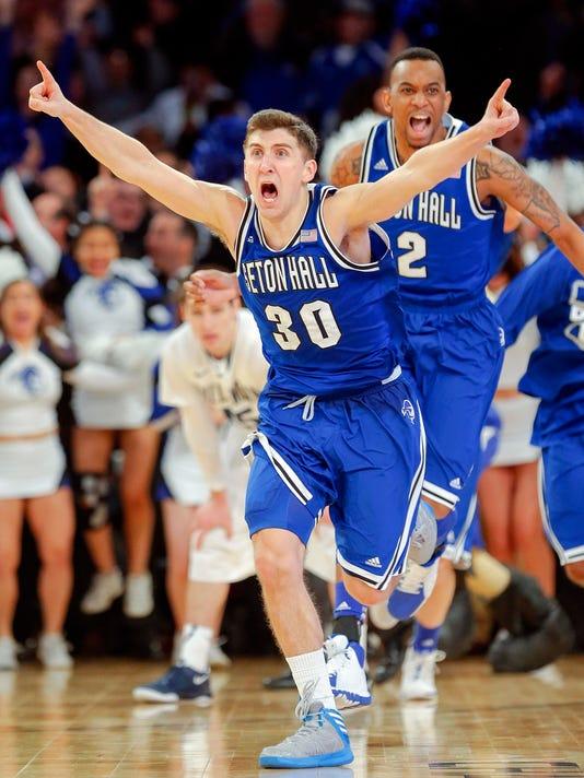 NCAA Basketball: Big East Tournament-Seton Hall vs Villanova