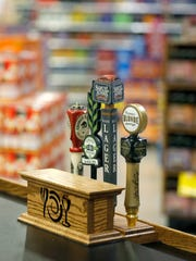 The Penfield Wegmans is greatly expanding its craft beer selection, which includes a kiosk for beer tastings.
