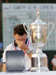 APTOPIX US Open Golf (3)