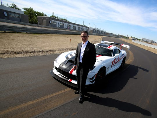 M1 Concourse founder and CEO Brad Oleshansky with a