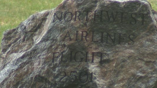 All 58 people on board were killed Northwest Orient Flight 2501 crashed off the coast of South Haven in Lake Michigan.