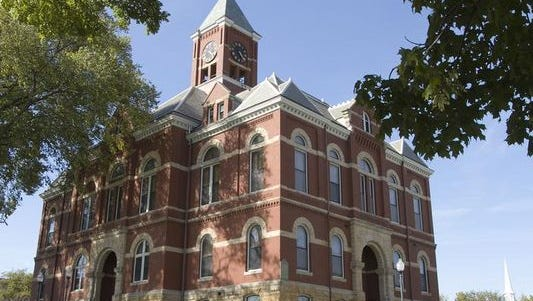 The historic Livingston County Courthouse